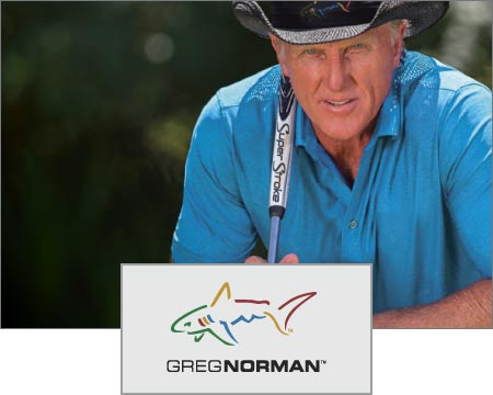 Custom Logo Imprinted Greg Norman Apparel
