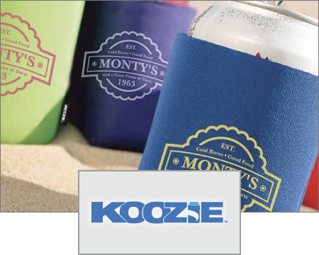 Custom Logo Imprinted Koozie Can and Bottle Holders