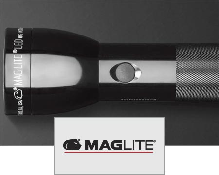 Custom Logo Imprinted Maglite Flashlights