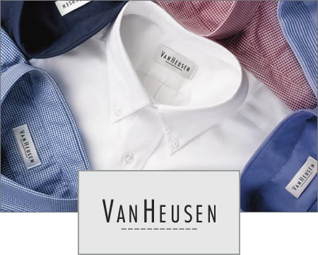 Custom Logo Imprinted Van Heusen Apparel