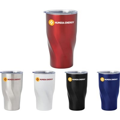 Custom Logo Imprinted Hugo Vacuum Insulated Tumbler 16oz