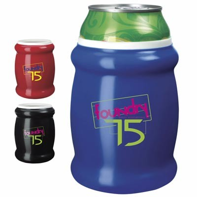 Custom Logo Imprinted Koozie® Reflections Can Kooler